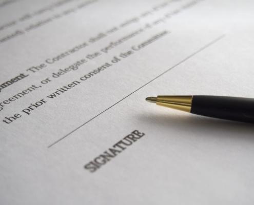 scrittura privata accollo debito